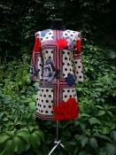 Стильное платье от английского дизайнера Emma Cook, яркое, новое с бирками.