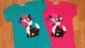 Детские  футболки, туники    с пайетками.