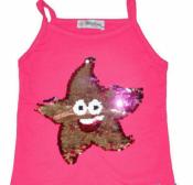 Детские  футболки, майки  с пайетками.