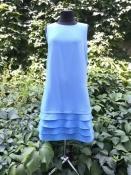 Платье Blumarine, оригинал, полиэстер, красивого голубого цвета.