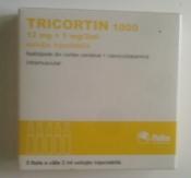 Продаём Трикортин 1000 раствор для инъекций 12 мг +1 мг / 2 мл № 5