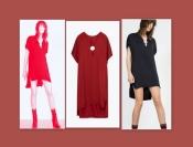Креативное платье туника р.S/M ZARA с удлиненной спинкой, цвет на выбор