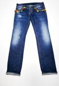 Стильные джинсы Dsquared2, оригинал, цвет - темно / синий.