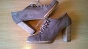 Кожаные туфли ботильоны 40р. 26 см. NW3 by Hobbs качество супер, состояние идеал