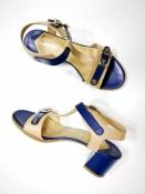 Босоножки Baldinini (Балдинини), оригинал, кожаные, устойчивый каблук.