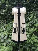 Стильное платье от John Galliano ( Джон Гальяно ), оригинал.