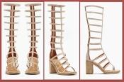 кожаные босоножки гладиаторы 37р. 23,4 см. Jeffrey Campbell эксклюзив