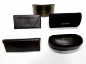 Футляры / чехлы для брендовых солнцезащитных очков gucci, yves saint laurent, hugo boss, оригинал.
