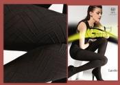 Эффектные колготки Gatta 3-М 60 den фактурный орнамент европейское качество