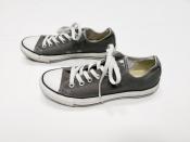 Кеды Converse, оригинал, цвет - серо / коричневый.