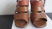 Кожаные босоножки на танкетке Clarks Кларкс разм.35 - 36 Оригинал