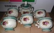 Сервиз чайный ретро  для декора