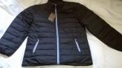 Фирменная мужская куртка р.XXL утепленная Jacks Denim черная, Designed in Denmark