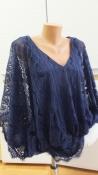 Linea tesini стильная ажурная блуза s by heine