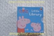 Peppa Pig Little Library,6книг,книги на английском,детские книги
