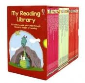 Usborne my second reading library -50 books, книги англійською для дітей,дитячі книги