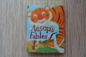 Байки Езопа, смішні історії про тварин, книга на английском, детские книги
