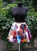 Яркая и модная юбка солнце-клёш итальянского бренда MRZ Marziali , новая.