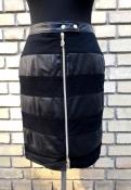 Кожаная юбка Versace Jeans ( Версаче ), оригинал.