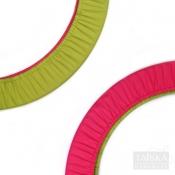 Чехол для обруча двухсторонний «Фисташка-Малина»