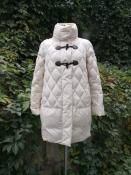 Пуховик / пуховое пальто Max &Co, оригинал, цвет- светло / бежевый.