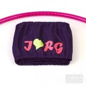 Чехол для обруча однослойный «Фиолетовый. I love RG»
