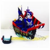 Пиньята Пиратский Корабль Пират Pinata by Sweety
