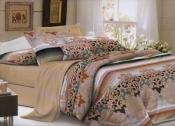 Комплект постельного белья евро-размер № 518