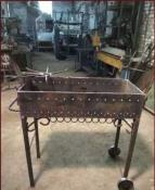 Изготовление легких металлоконструкций, металлической мебели