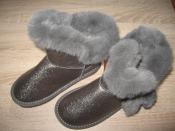 Детские зимние сапожки (угги) Apawwa для девочек (26--37)