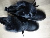 Модные зимние сапожки Apawwa для девочек (32-37)