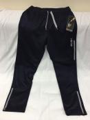 Мужские спортивные теплые штаны AND1 на микрофлисе