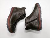 Мужские  ботинки Camper ( Кампер ), кожаные, мех овчина, шерсть.