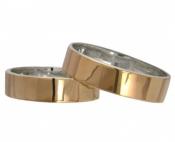 Обручальные кольца Американка пара