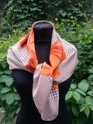Винтажный шелковый платок Balenciaga, оригинал.