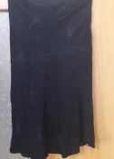 Женская юбка замшевая