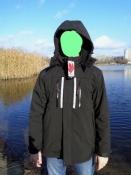Многофункциональная мужская куртка Canada Weather Gear 3 в 1 черная