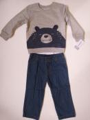 Комплект Carter`s на мальчика кофта и джинсы 24 месяца набор-двойка картерс