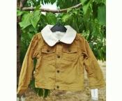 Куртка вельветовая Carters на мальчика 24 месяца на флисе
