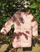 Куртка демисезонная GAP на девочку удлиненная с капюшоном 5 лет