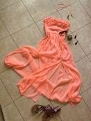 River Island, парящее летнее платье-макси