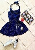 Соблазнительное летнее платье NafNaf с открытой спинкой