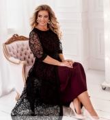 Вечернее платье, цвет Бордо