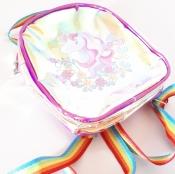 Рюкзак детский дошкольный силикон с единорогом Бесплатная доставка