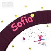 Чехол для обруча именной Sofia