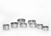 Алюминиевые формы для выпечки кексов и маффинов .