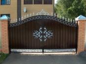 Навесы для дома. Металлические и кованые ВОРОТА. Решетки. Калитки. Двери