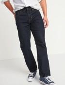 Мужские джинсы Old Navy тёмно-синие прямые 32 х 30