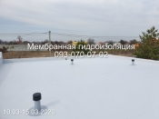 Монтаж и ремонт  мембранных крыш в Киеве