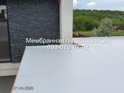 Монтаж и ремонт  мембранных крыш в Новомосковске
